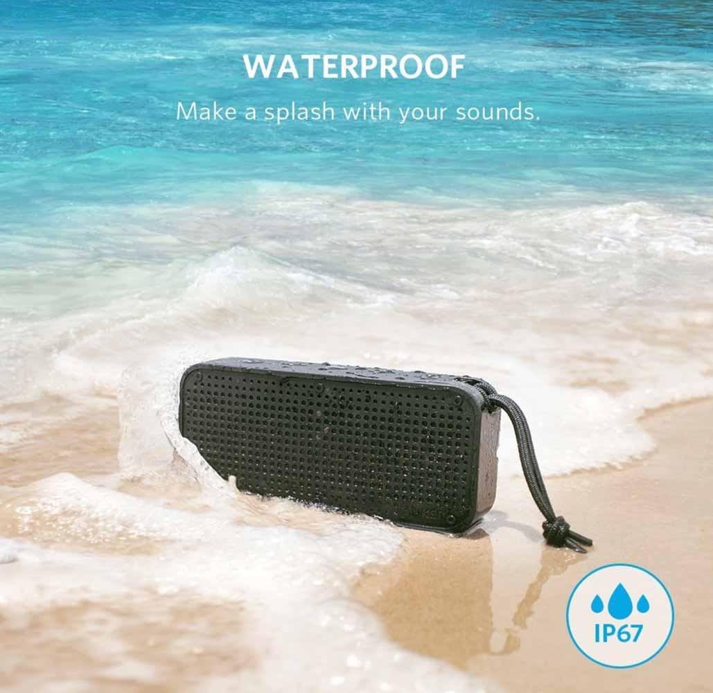 Anker、IP67 防水&防塵規格を取得したBluetoothスピーカー「Anker SoundCore Sport XL」の販売開始