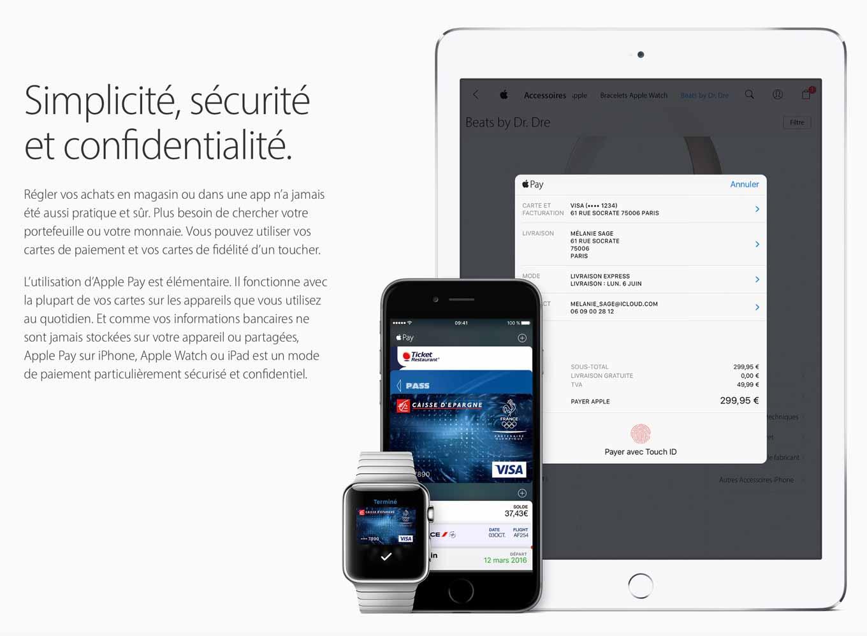 Apple、フランスで「Apple Pay」のサービスの提供を開始