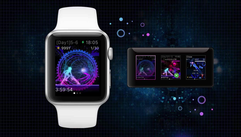 スクウェア・エニックス、Apple Watch向けRPG「COSMOS RINGS」リリース