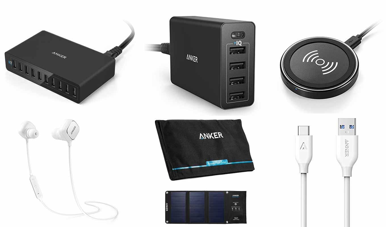 【セール終了】Amazon、USB急速充電器「Anker PowerPort 10」や「Anker PowerPort 5」などを最大53%オフで販売中(8/28タイムセール)