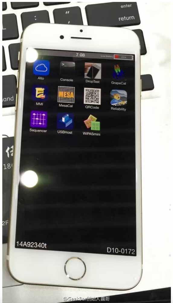 「iPhone 7」の試作機とされる画像がリークされる!?