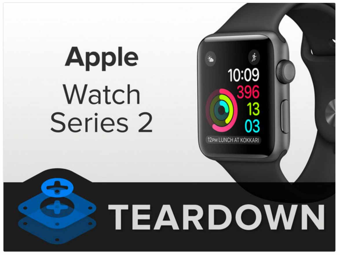 iFixit、「Apple Watch Series 2」のバラシレポートを公開