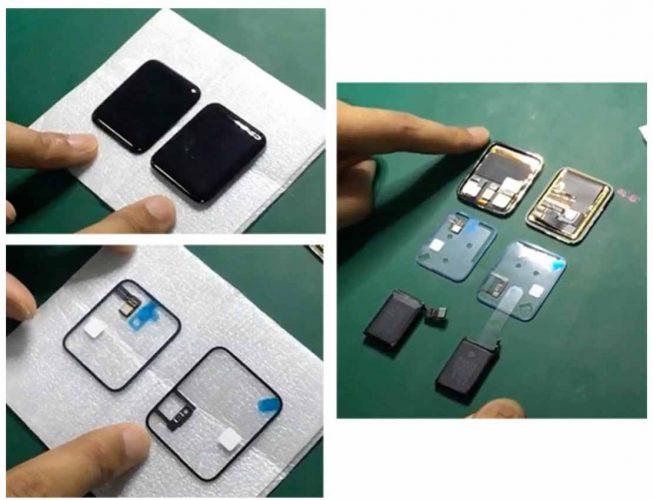 「Apple Watch 2」のものとされる部品を撮影した動画
