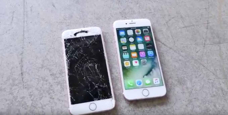 「iPhone 7」対「iPhone 6s」落下テスト対決などいくつかの耐久テスト動画