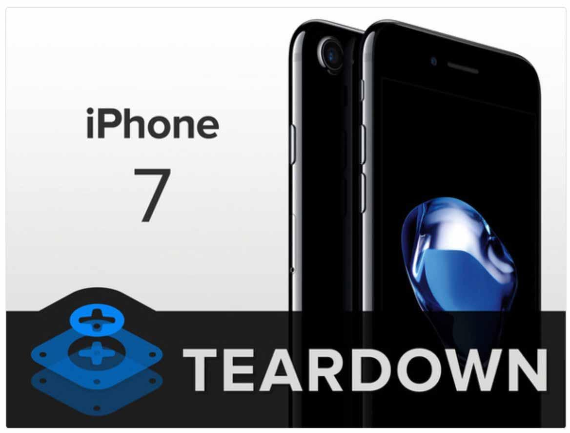 iFixit、「iPhone 7」のバラシレポートを公開