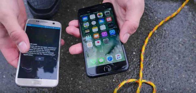 「iPhone 7」を深い海に沈めてみたら…また無茶な耐久テストが公開