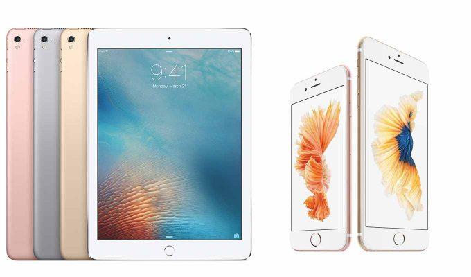 Apple、「iPad」シリーズ「iPhone 6s」「iPhone SE」のストレージラインナップや価格を変更