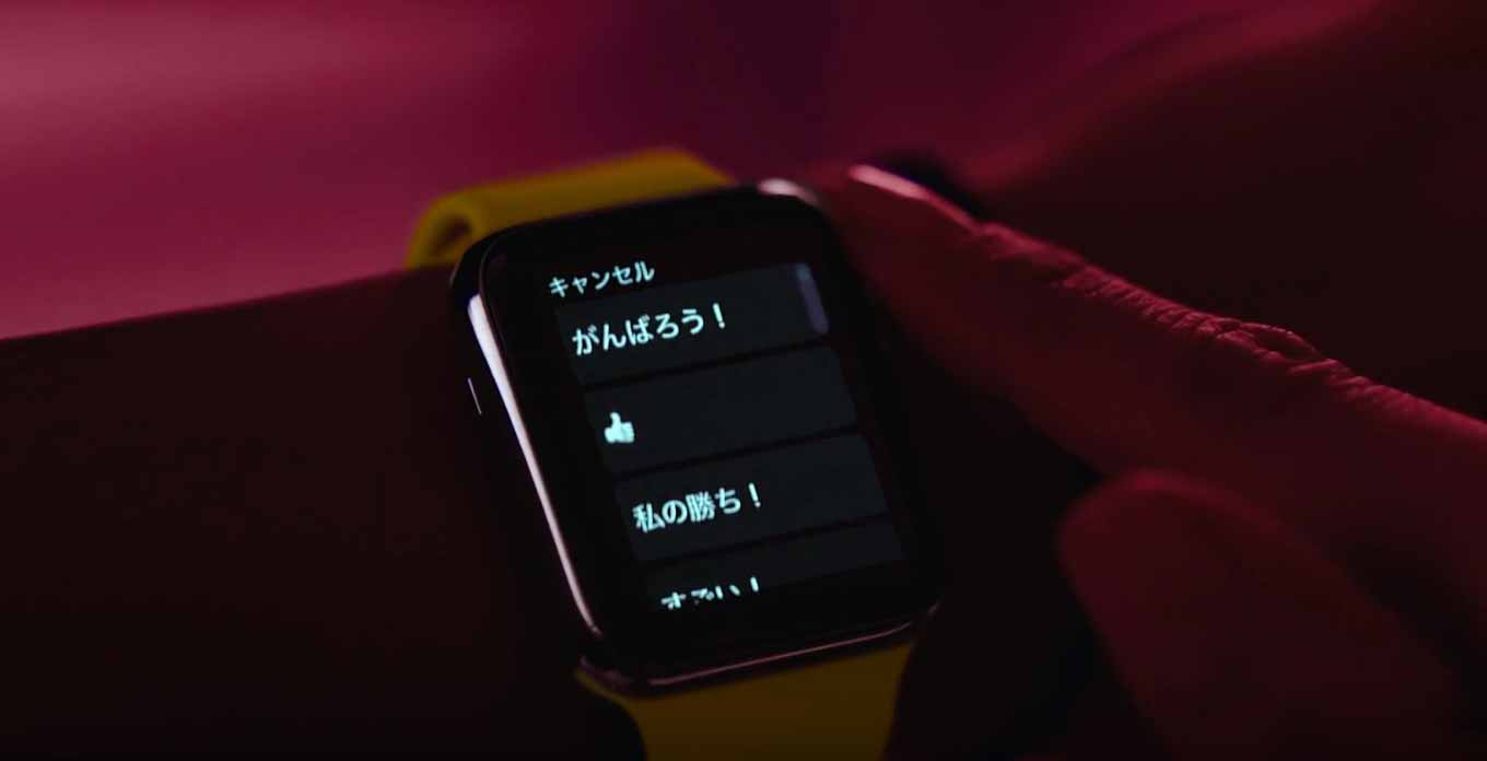 Apple、「Apple Watch Series 2」のTVCM「Go Time」の日本語版を公開