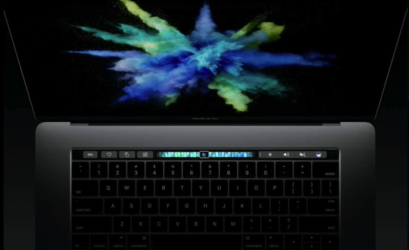 Macbookpro touchbar