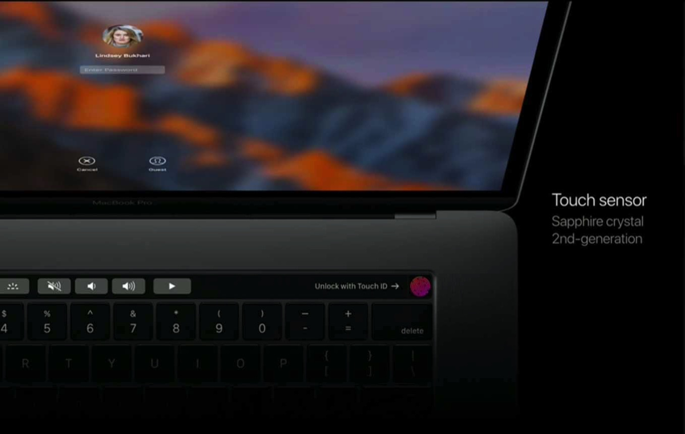 Macbookpro touchid