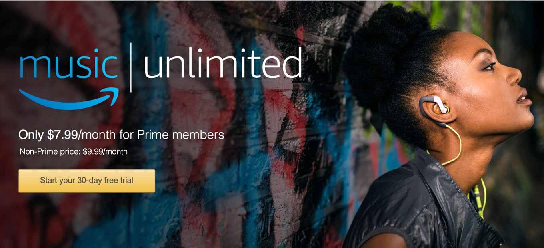 Amazon、アメリカで音楽ストリーミングサービス「Amazon Music Unlimited」を提供開始