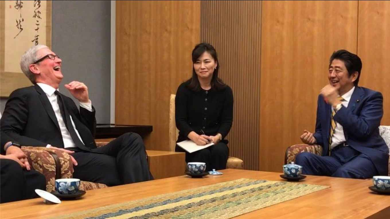 Tim Cook氏、安倍首相と会談していたことが明らかに 〜 横浜の研究開発拠点は12月に完成