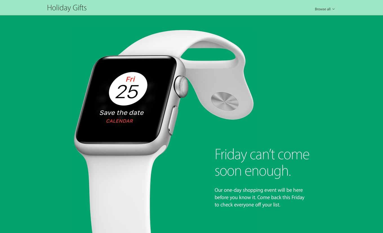米Apple、今週金曜日に1日限りの「ブラックフライデー」セールを実施か!?