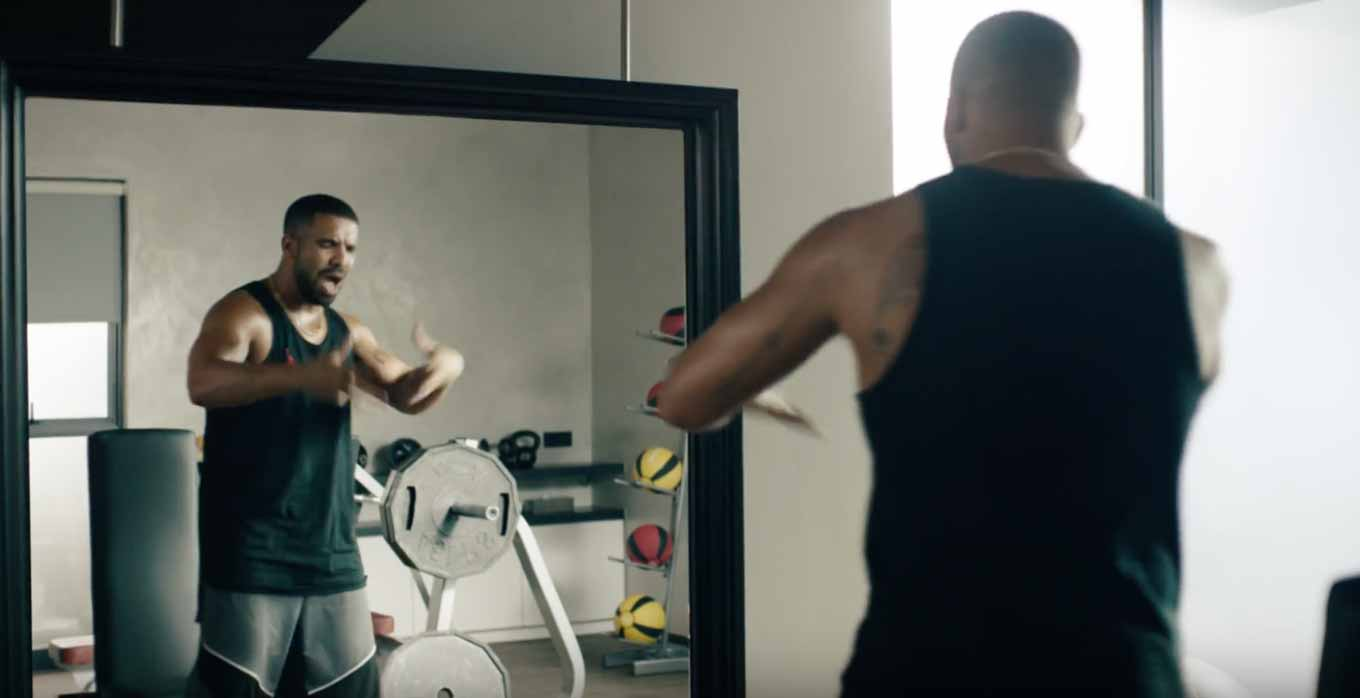 Apple、Apple MusicのTVCM「Drake vs. Bench Press」を公開