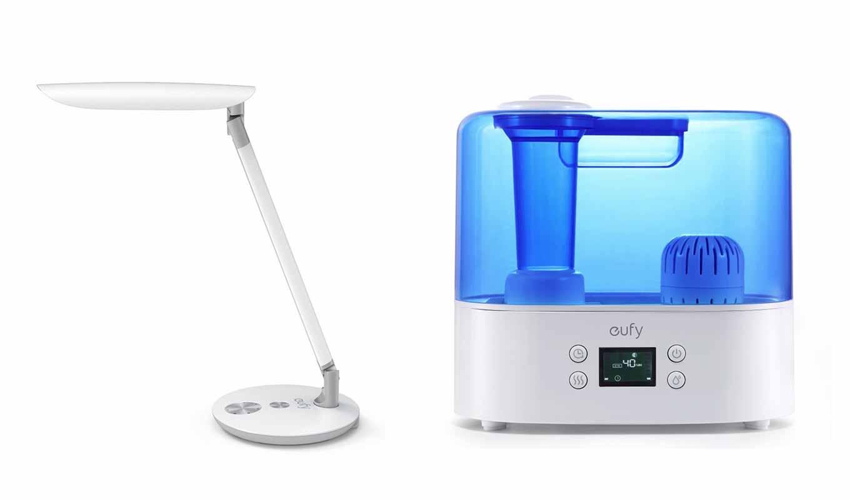 eufy、ハイエンドLEDデスクライト「Lumos E1」と超音波加湿器「Humos Air 1.1」の販売を開始