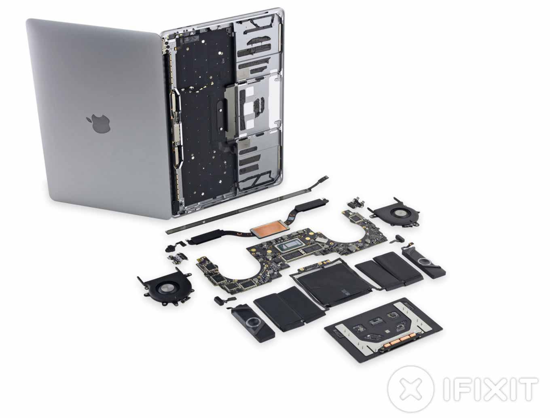 iFixit、Touch Bar搭載「13インチMacBook Pro(Late 2016)」のバラシレポートを公開