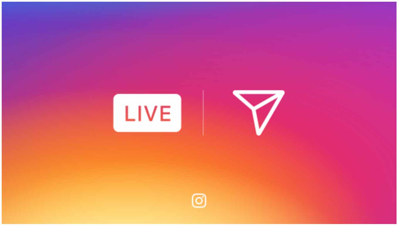 Instagram、ライブビデオ機能「Live stories」とInstagram Directで消える写真や動画を送信できる機能を追加