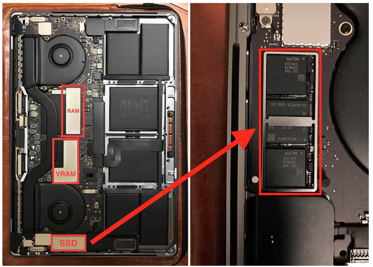 Touch Bar搭載「MacBook Pro(Late 2016)」のSSDは取り外しはできない模様