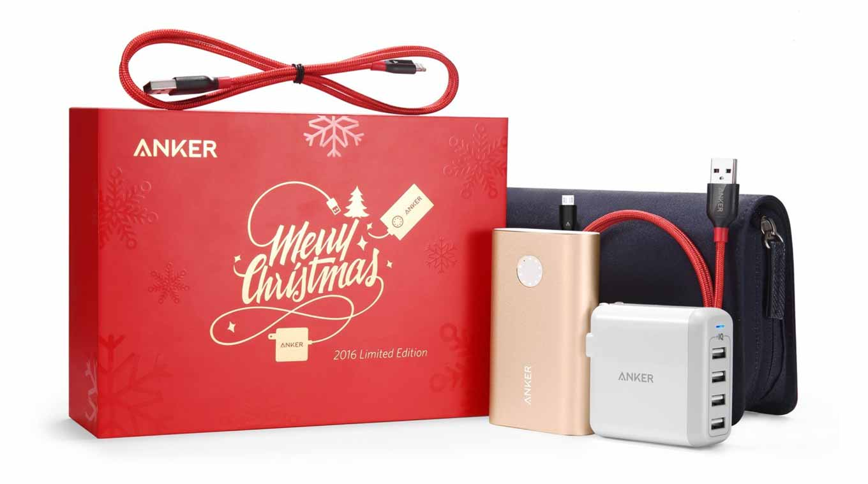 【数量限定】Anker、モバイルバッテリー、充電器、ケーブルなどがセットになった「Anker Christmas PowerPack」を販売開始