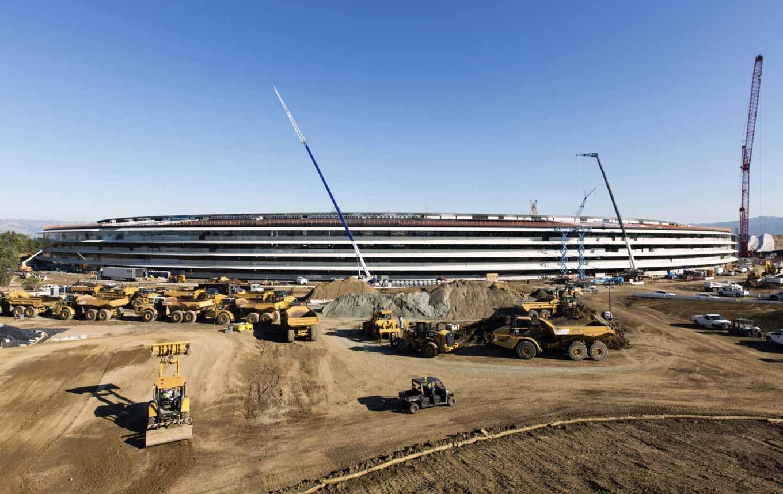 建設中の「Apple Campus 2」の新たな内部写真