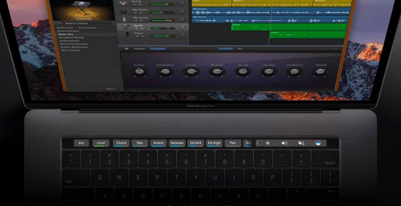 Apple、Touch Bar搭載「MacBook Pro(Late 2016」のTVCM「指先でもっと」を公開