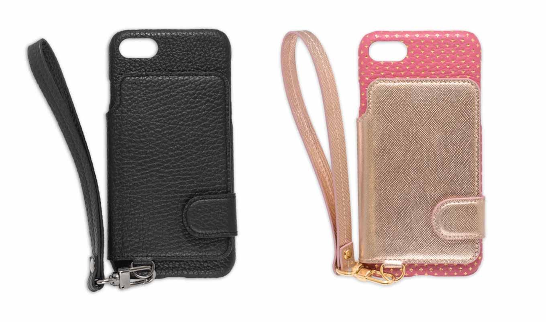 modaMania、RAKUNIとコラボしたiPhone 7向け本革製背面ポケットケースの販売を開始