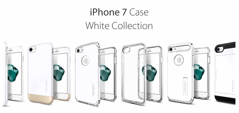 Spigen、「iPhone 7/7 Plus」ケースに新色「ジェットホワイト」を追加、さらに12月25日まで40%オフで販売中