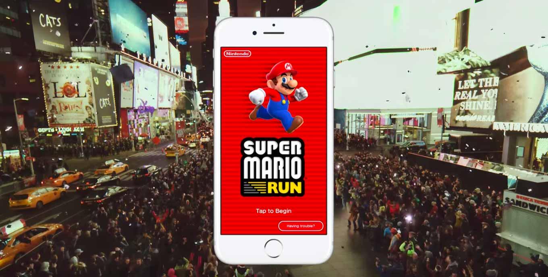 「Super Mario Run」、プレイ中は常時インターネット接続が必要