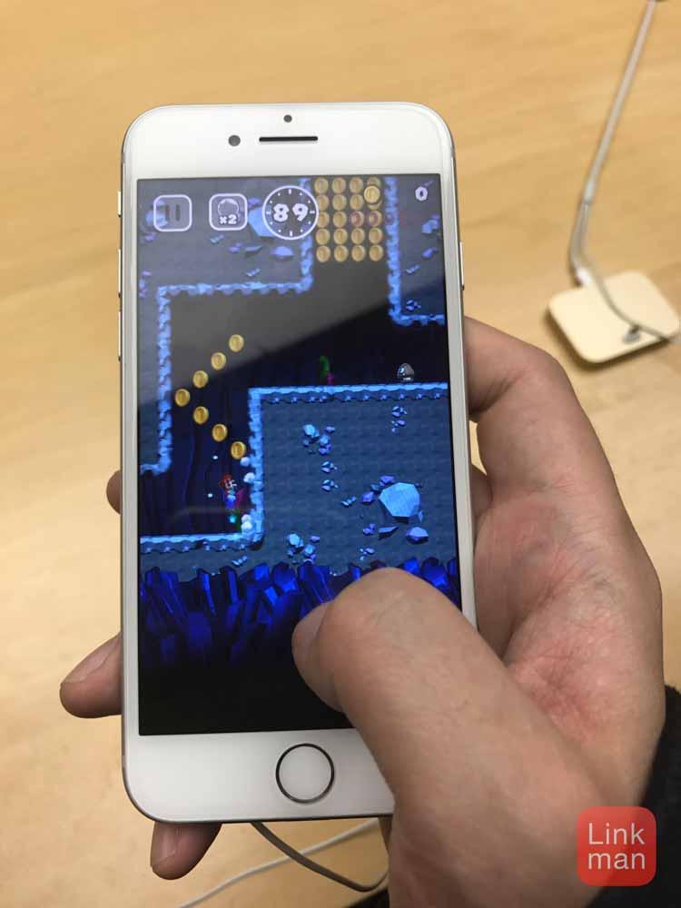Apple Storeで「Super Mario Run」のデモプレイをやってきた