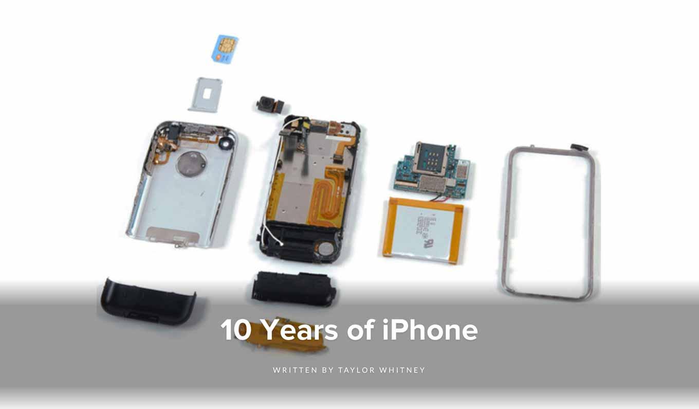 iFixit、iPhone10周年を記念して歴代のiPhoneのバラシレポートをまとめた「10 Years of iPhone」を公開