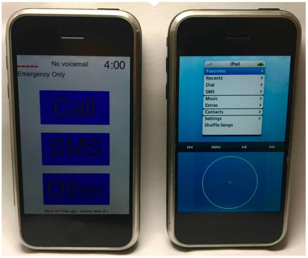 iPhone向けに開発されていたTony Fadell氏とScott Forstall氏のプロトタイプの比較動画などが公開される