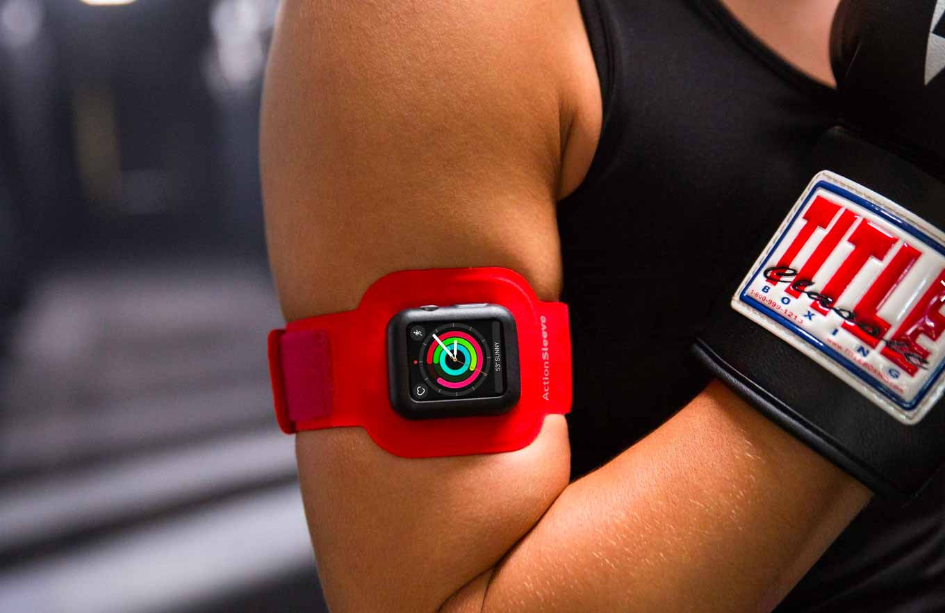 Twelve South、Apple Watch用アームバンド「ActionSleeve Armband」を発表