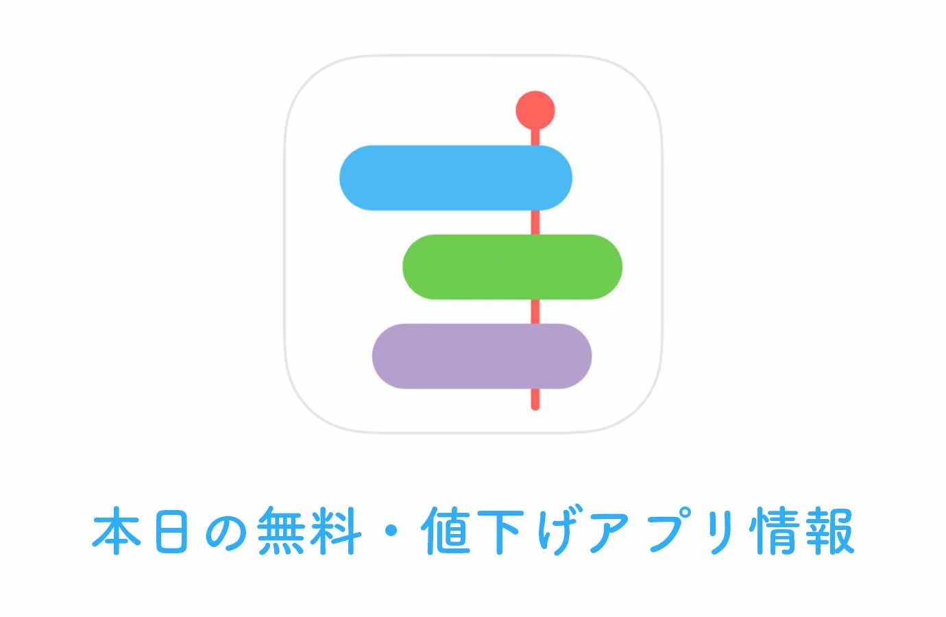 240円→無料!日々の活動を記録して比較・分析できる「ライフログ」など【1/30】本日の無料・値下げアプリ情報