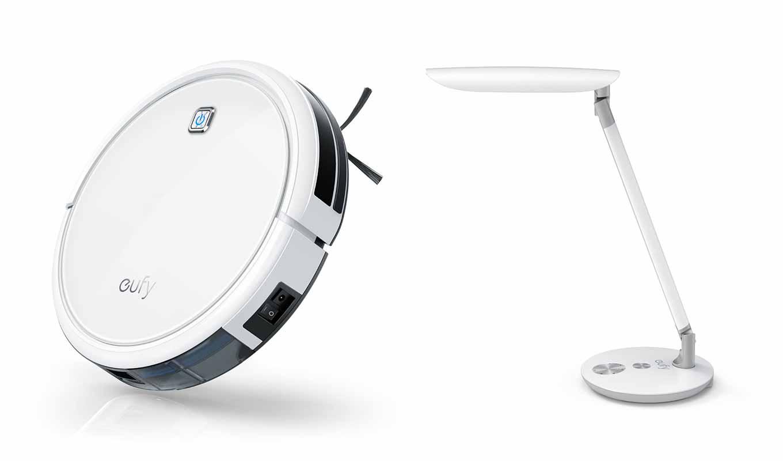 【20%オフ】eufy、ロボット掃除機「eufy RoboVac 11」とLEDデスクライト「eufy Lumos E1」を特価販売中