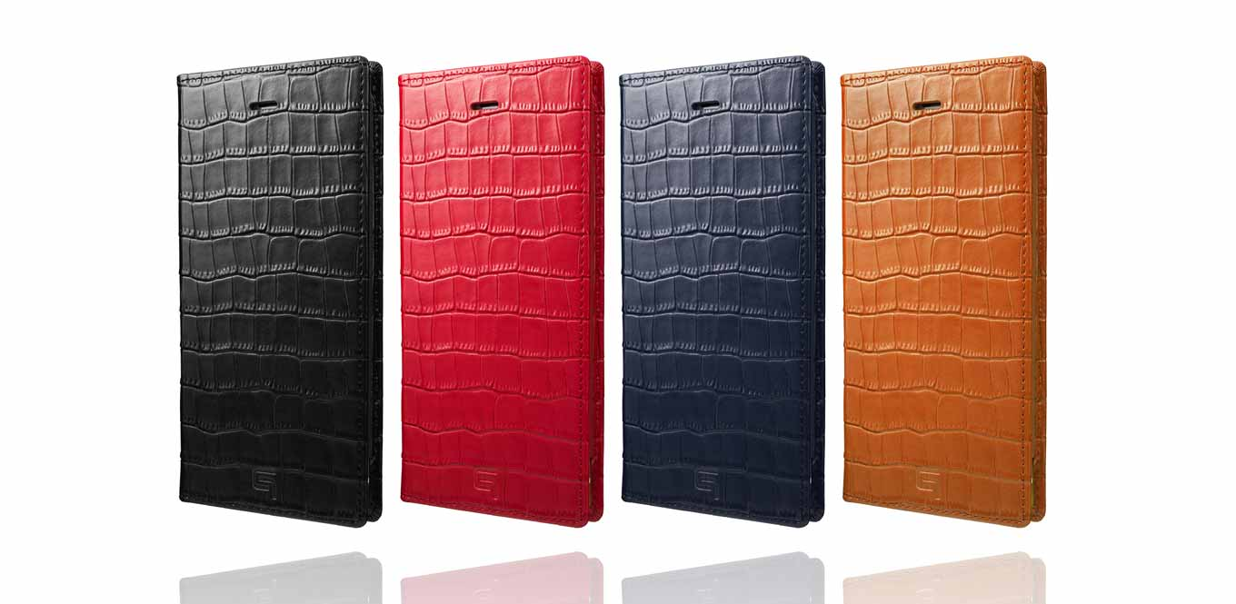 GRAMAS、クロコダイル型押しを施した「GRAMAS Croco Patterned Full Leather Case for iPhone 7/7 Plus」販売開始