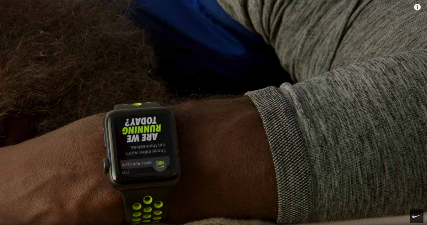NIKE、「Apple Watch Nike+」のCMシリーズ「The Man Who Kept Running feat. Kevin Hart」を公開