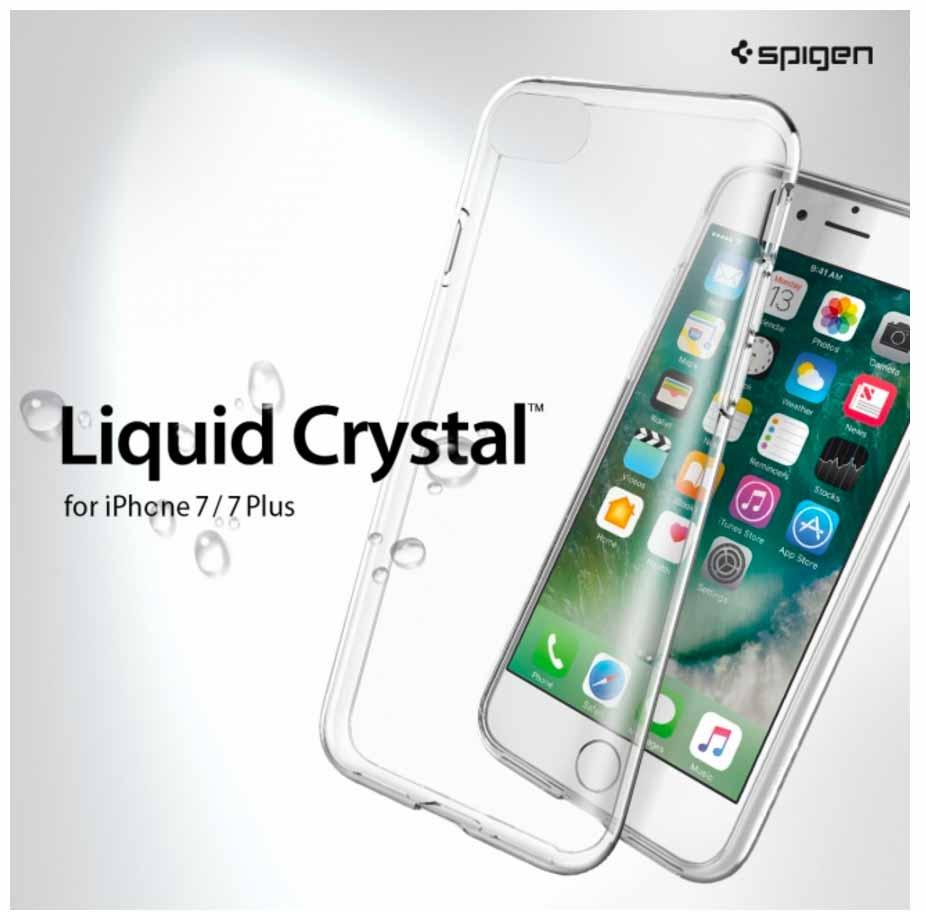【999円】Spigen、iPhone 7向けクリアケース「リキッド・クリスタル」を56%オフで販売する期間限定セール実施中