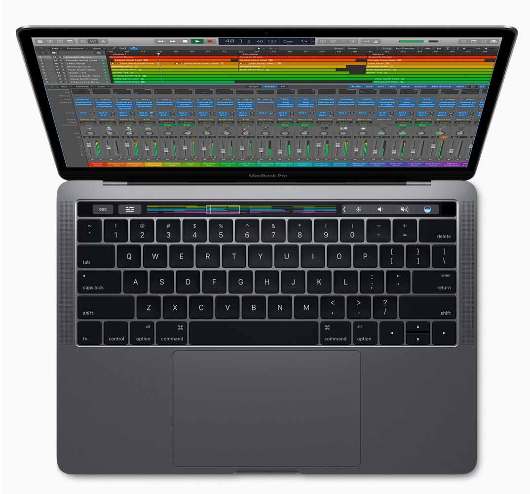 Apple、Touch BarをサポートしたMac向けアプリ「Logic Pro X 10.3」リリース