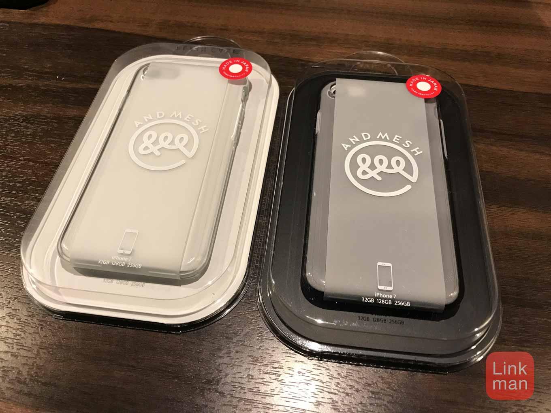 【2/12まで30%オフ】AndMesh、ジェット・ブラックでも側面まで張り付かないクリアケース「AndMesh Plain Case for iPhone 7」販売開始