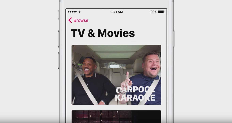 Apple、Apple Musicの独自コンテンツ「Carpool Karaoke」と「Planet of the Apps」の新たなトレーラーを公開