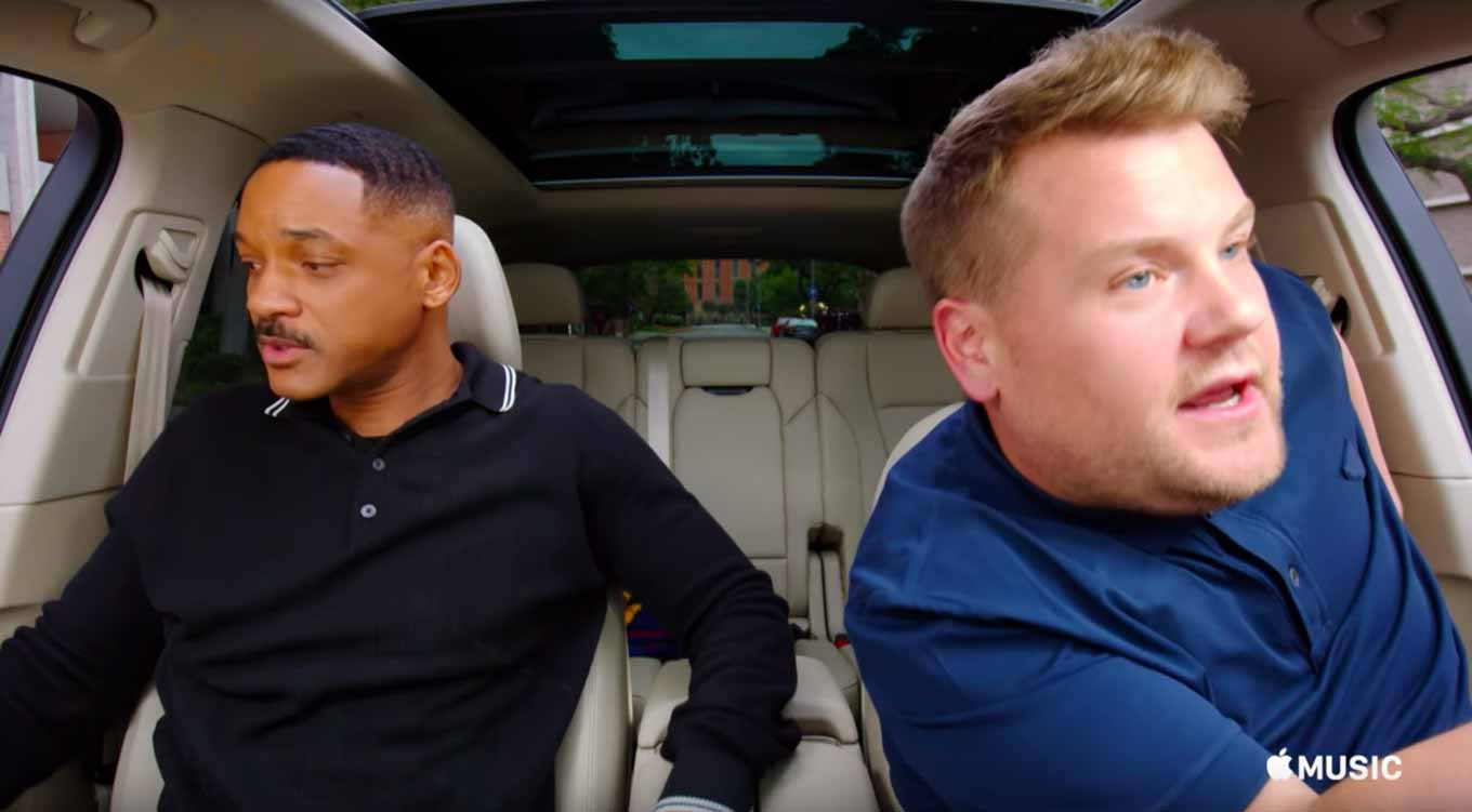 Apple、Apple Musicのトレーラー「Carpool Karaoke: The Series — Coming Soon」公開
