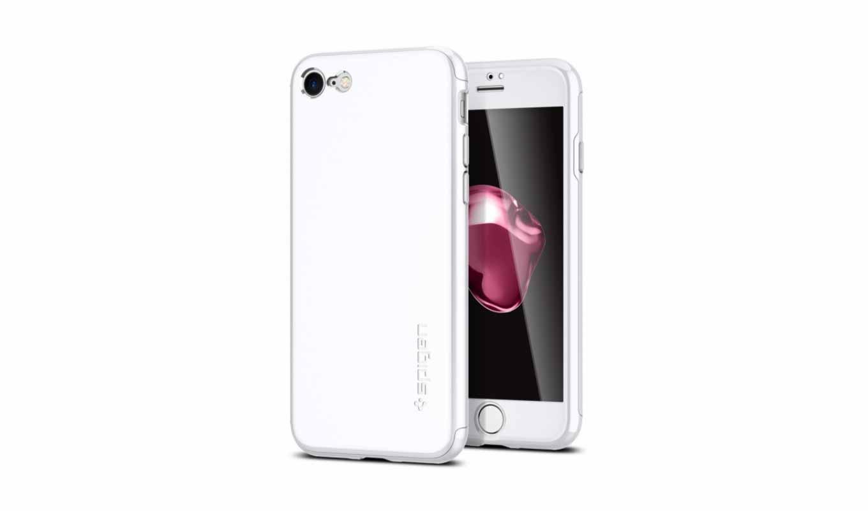 Spigen、iPhone 7/7 Plusを全面保護できるハードケース「シン・フィット 360(エアー・フィット 360)」の販売を開始