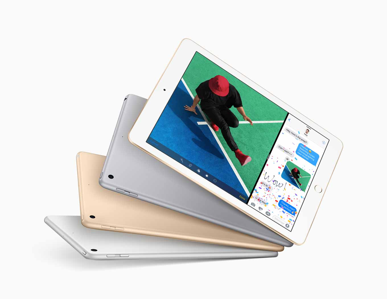 KDDI、「iPad(第5世代)」を3月25日から取り扱いを開始 ― 機種代金も発表