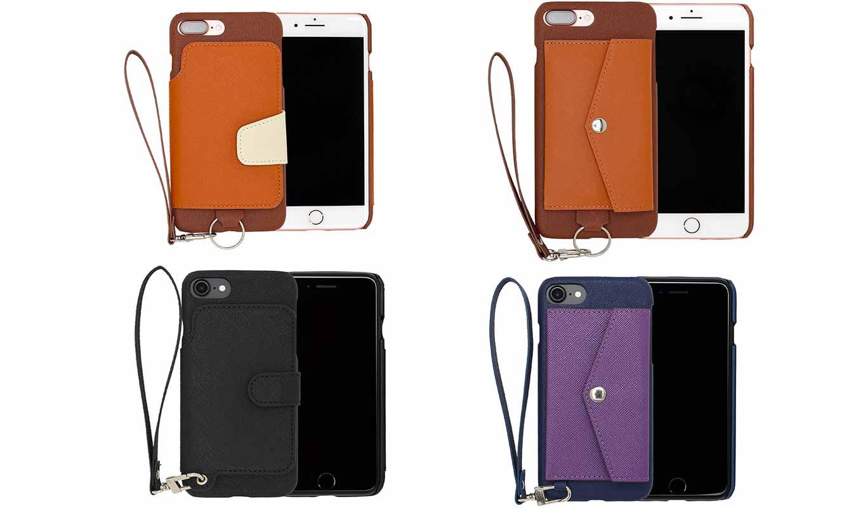 RAKUNI、人気の「iPhone 7/7 Plus」用背面ポケット型ケースを約40%オフの特別価格で販売中(4/2まで)