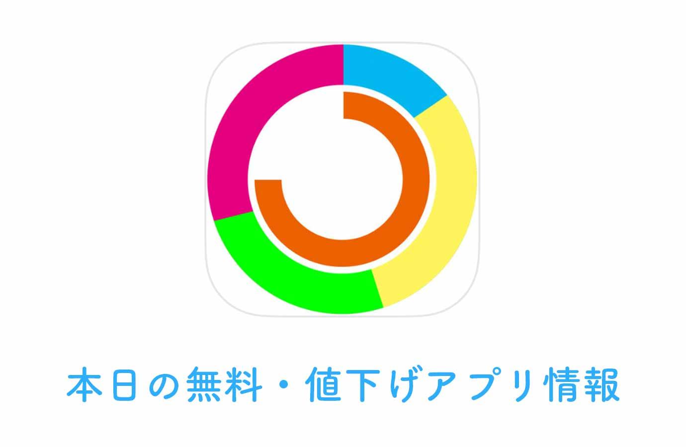 360円→無料、1日の時間の使い方を管理できる「Timeline Tracking」など【4/25】本日の無料・値下げアプリ情報