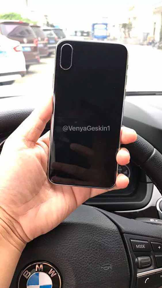 「iPhone 8」のダミーユニットとされる写真が公開される!?