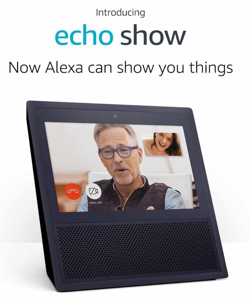 Amazon、アメリカで7インチタッチスクリーンを搭載した「Echo Show」を発表 ― 価格は230ドルで6月28日発売へ