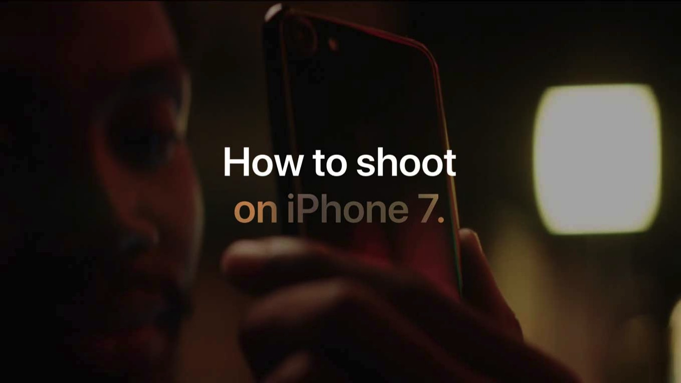 Apple、iPhone 7で写真を撮影する方法を紹介した動画シリーズとWebページ「How to Shoot on iPhone 7」を公開