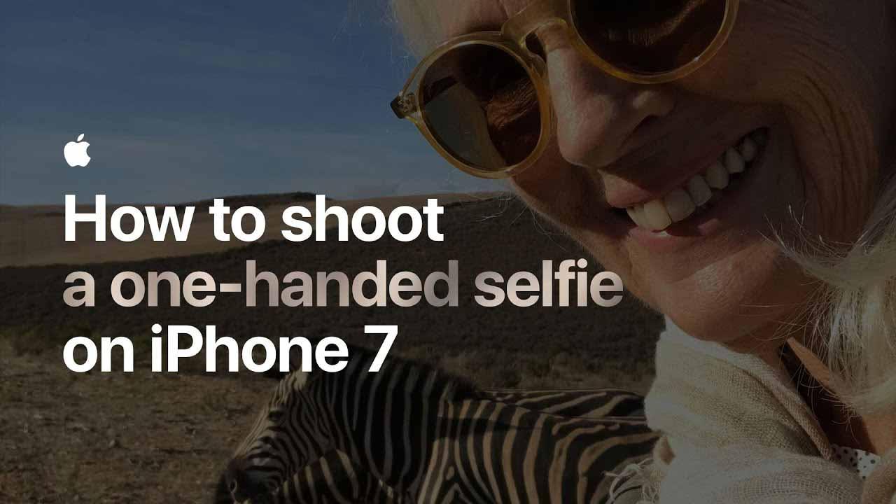 Apple、「iPhone 7」のカメラアプリで写真を撮影する方法を紹介した動画を4本追加