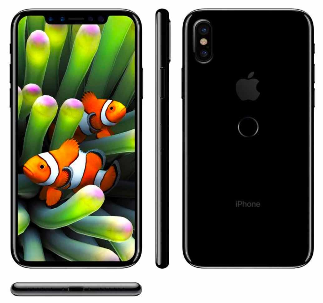 「iPhone 8」のTouch IDは背面に搭載される??
